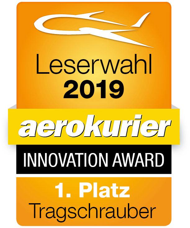 aerokurier Innovation Award Leserwahl Tragschrauber 1. Platz